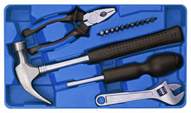 Tools set Royalty Free Stock Photos