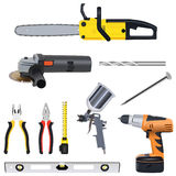Tools set Stock Photography