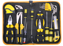 Tools set Stock Photo