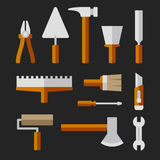 Tools Set for Home Repair. Vector Stock Image