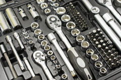 Tools in a set Stock Images