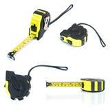 Tools set. Measure tape. Stock Image