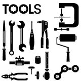 Tools set Royalty Free Stock Images