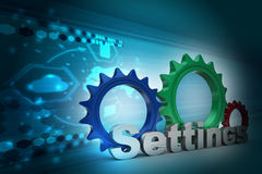 Tools and settings icon Stock Photography