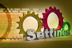 Tools and settings icon Stock Image