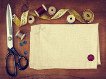 Tools for sewing Stock Images