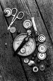 Tools for sewing Royalty Free Stock Image