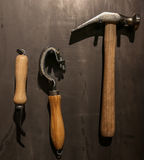 Tools shoemaker. Royalty Free Stock Photography
