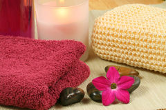 Tools for spa therapy Stock Image