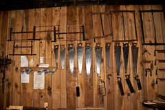 Tools at Steppingstone Museum near Havre de Grace, MD Stock Photos