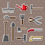 Tools stickers Stock Photography