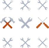 Tools symbol Stock Photo