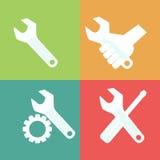 Tools symbolen Royaltyfria Foton