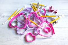Free Tools To Make Cookies Stock Photo - 40523140