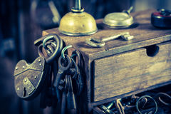 Free Tools To Repair In Old Locksmiths Workshop Stock Photos - 74016863