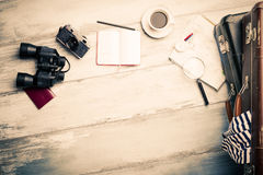 Tools to travel with Royalty Free Stock Images