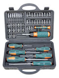 Tools in toolbox Stock Photos