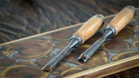 tools trä Royaltyfri Bild