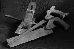 tools träworking Fotografering för Bildbyråer