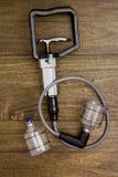 Tools for vacuum massage Stock Photo