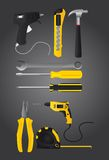 Tools vector Royalty Free Stock Photography