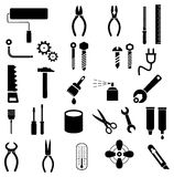 Tools - vector icons royalty free illustration