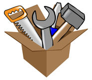 Tools vector illustration Royalty Free Stock Photography