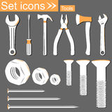 Tools, vector illustration Stock Images