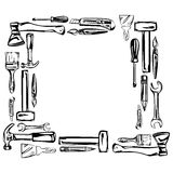 Tools vector set Stock Photos