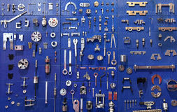 Tools wall Stock Image