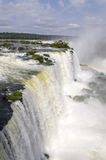 Tools for waterfall Iguacuwalls Royalty Free Stock Photos