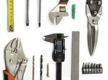 Tools on white Stock Image