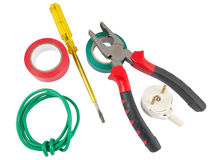 Tools for wiring Stock Images