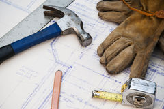 Work site Stock Photo
