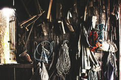 Tools in workshop Stock Photos