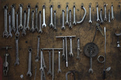 Tools at workshop Royalty Free Stock Images