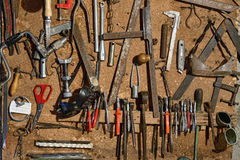 Tools workshop Royalty Free Stock Images
