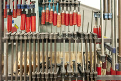 Tools in a Workshop Stock Images