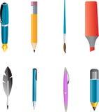 Tools write vector Stock Photo