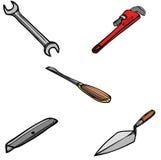 tools2 διάφορος Στοκ Εικόνες