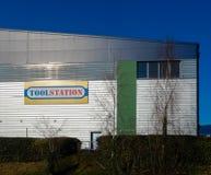Toolstation DIY Store royalty free stock image