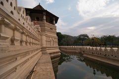 Toolth的寺庙在康提 免版税库存图片
