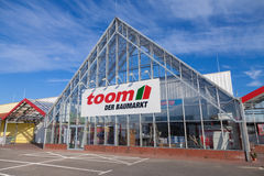 Toom hardware store Stock Photo