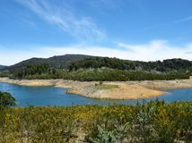 Tooma reservoir Royalty Free Stock Photo