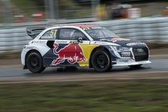 Toomas HEIKKINEN Barcelona FIA Rallycross Światowy mistrzostwo Obrazy Royalty Free