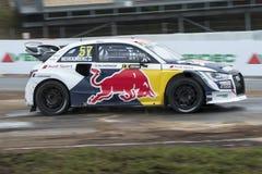 Toomas HEIKKINEN Barcelona FIA świat Rallycross Zdjęcie Royalty Free