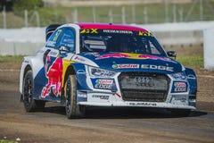 Toomas HEIKKINEN Barcelona FIA świat Rallycross Obrazy Royalty Free