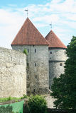 Toompea Castle in the old town of Tallin Stock Photos