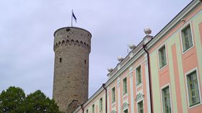 Toompea castle and War of Independence Victory Column.