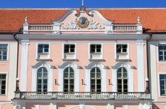 Toompea Schloss in Tallinn stockbild